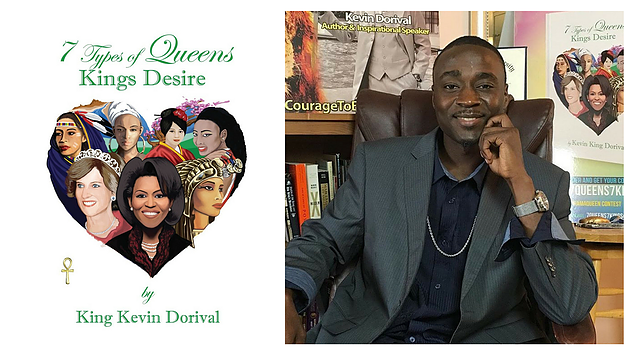 7 types of queens, kings desire. Nonfiction book by king Kevin Dorival