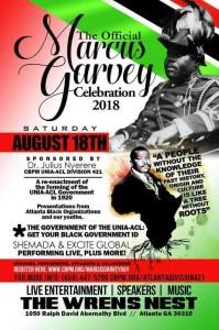 Marcus Garvey celebration