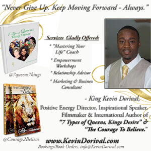 author_filmmaker_king_kevin_Dorival_2018