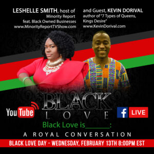 Black Love Day With Minority Report
