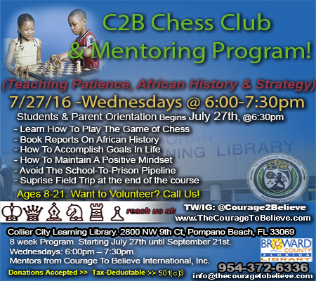 chess program flyer