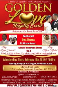 Valentines Day Golden Love & Relationship Panel Atlanta  @ Claudine