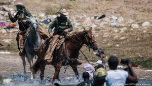 Texas border patrol abuse Haitian migrants