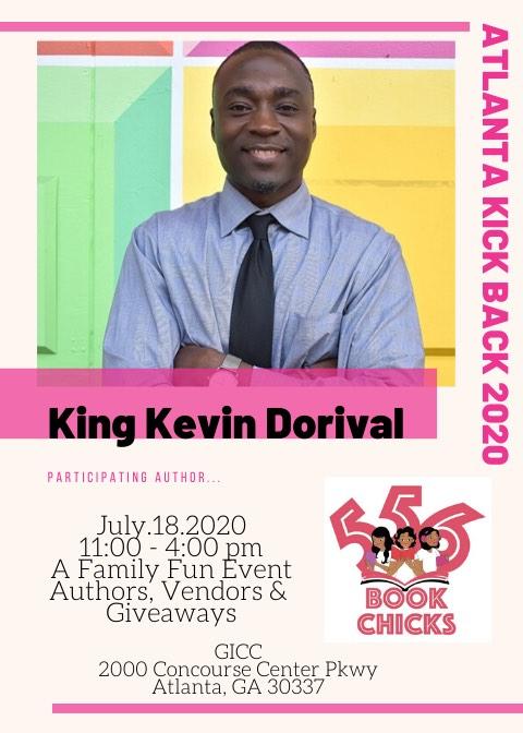 King Kevin Dorival, author flyer