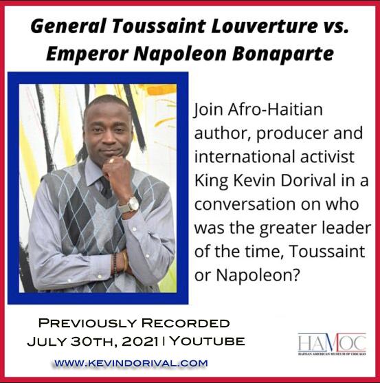 King Kevin Dorival presents Napoleon Bonaparte vs Toussaint Louverture