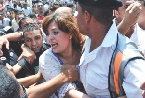 Mobb Attacking Egyptian Woman At Rally - 2017