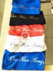 One Man Army Inc Tshirts