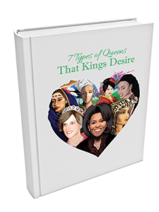 Seven types queens kings desire book by kevin dorival